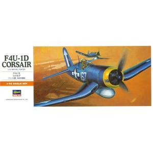1/72 F4U-1Dコルセア/ハセガワA10/のプラモデル組み立てキット コレクションや気軽に制作...