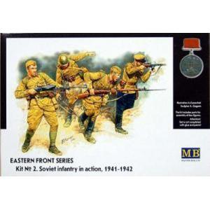 1/35 ソ連軍歩兵 1941-42東部戦線2 【マスターボックス3523】|kcraft