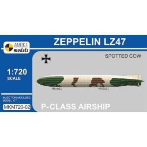 1/720 P級ツェッペリン LZ47 「スポッテドカウ」/マーク1モデルスMKM72002/|kcraft