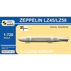 1/720 P級ツェッペリン LZ45/LZ58 「海上侵攻」/マーク1モデルスMKM72003/|kcraft