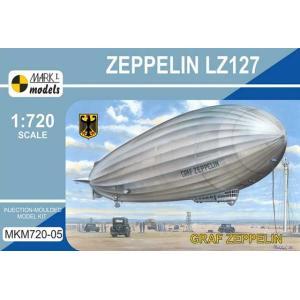 1/720 LZ127 グラーフ・ツェッペリン/マーク1MKM72005/|kcraft