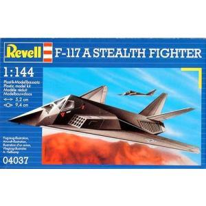 1/144  F-117Aステルス戦闘機【レベル04037】|kcraft