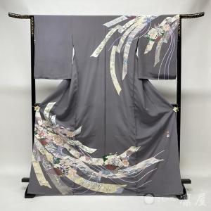 加賀友禅 訪問着 古泉良範「熨斗」|kd-rinya
