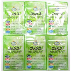 新製品コッカス+アミネビタクルクミン6袋set・アドバンス腸内細菌食品・送料無料  (生産完了1粒100食コッカス・健康100食改良版)|kdckdc