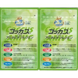 新製品コッカス+アミネビタクルクミン2袋set・アドバンス腸内細菌食品・送料無料  (生産完了1粒100食コッカス・健康100食改良版)|kdckdc