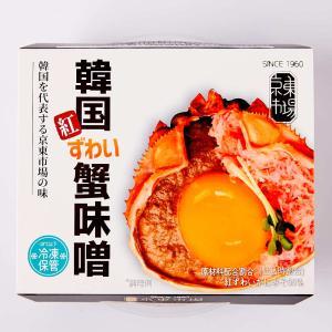 【京東市場】韓国紅ずわい蟹味噌(80g×6個)