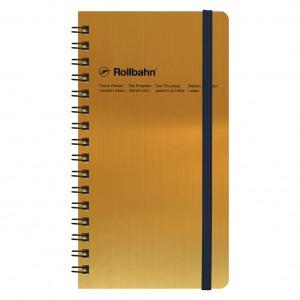デルフォニックスが生んだ名作リングノート「ロルバーン」の片手で持てるスリムタイプ「メタリック」カラー...