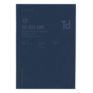 【ユナイテッドビーズ】A5 ファンクションノート TO DO LIST NOTE-A5F-11 kdmbz