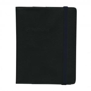 【DELFONICS/デルフォニックス】ロルバーン ポケット付メモ カバー L 【ブラック】 500068-105|kdmbz
