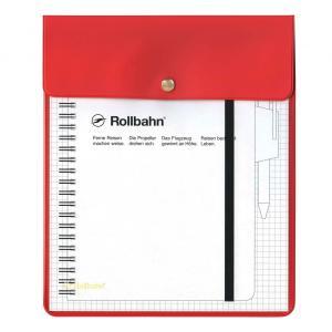 「ロルバーン ポケット付メモ A5サイズ」対応のケースです。さらっとした手触りのPVC(塩ビ)素材を...