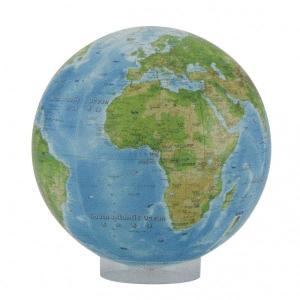 のアースボール(地球儀)