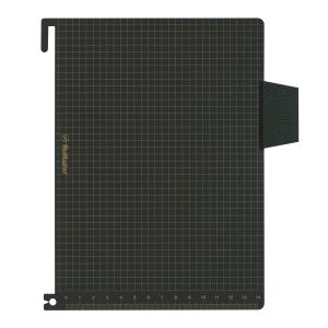 ロルバーン ポケット付メモ/ダイアリー A5サイズ用 下敷き ブラック  500532|kdmbz|02