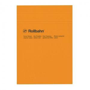 ロルバーンシリーズに「ノートパッド」が仲間入りしました。表紙を上にめくって使用する縦型タイプ。定番カ...