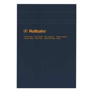 デルフォニックス の定番「ロルバーン」シリーズのA5サイズノートパッド。表紙を上にめくって使用する縦...