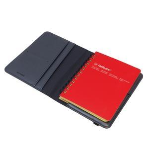 ロルバーン ポケット付メモ(M)用カバー ブラック  500596-105|kdmbz|03