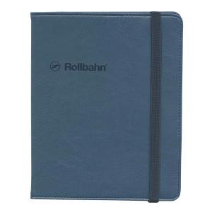 ロルバーンのリングタイプのポケット付メモ(L)を収納できる、合皮素材の専用カバー。本革のような細かな...