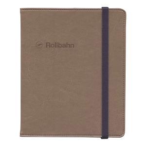 ロルバーン ポケット付メモ(L)用カバー ダークブラウン  500597-178