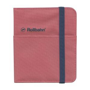 ロルバーンのリングタイプのポケット付メモ(M)を収納できる、布生地素材の専用カバー。右袖にリングメモ...