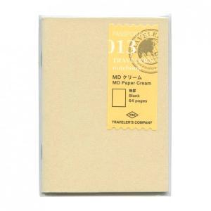 トラベラーズノート パスポートサイズ リフィル MDクリーム  14404
