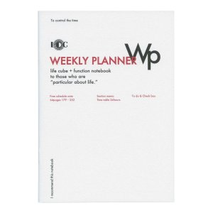 B5 ファンクションノート WEEKLY PLANNER (ウィークリー)バーチカルタイプ LDNT-B5F-02|kdmbz