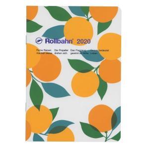 定番人気「ロルバーン」のB6サイズノートタイプダイアリー。木々に実ったフルーツを活き活きと描いたシリ...