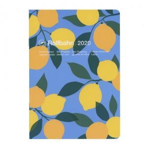 定番人気「ロルバーン」のA5サイズノートタイプダイアリー。木々に実ったフルーツを活き活きと描いたシリ...