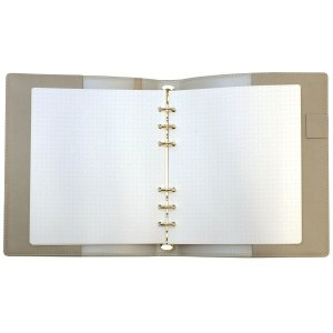HB×WA5 理想をつくるマイノート リング径15mm  グレー システム手帳 リフィル入り ODR-DC04-GY|kdmbz|04