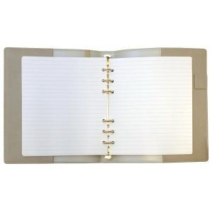 HB×WA5 理想をつくるマイノート リング径15mm  グレー システム手帳 リフィル入り ODR-DC04-GY|kdmbz|05
