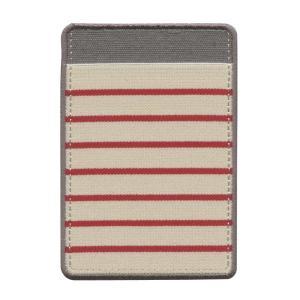 のびる ポケットシール  ボーダー  レッド  82484006|kdmbz
