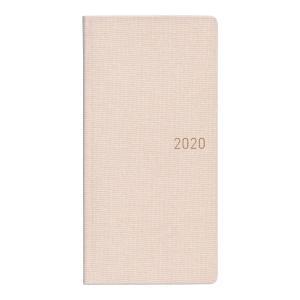 2020 3月始まり B6変型 手帳  WEEKS カラーズ シェルピンク  978-4-86501...