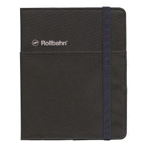 ロルバーンポケット付メモカバー ポケット L ブラック  500681 105