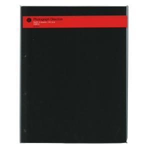 【DELFONICS/デルフォニックス】アルバム粘着台紙(A4)【ブラック】 500177-105|kdmbz
