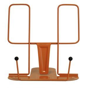 メタルブックレスト オレンジ ブックスタンド DB016 OR kdmbz