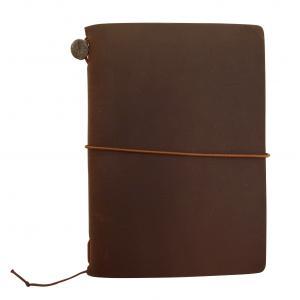 トラベラーズノート パスポートサイズ スターターキット 茶  15027-006