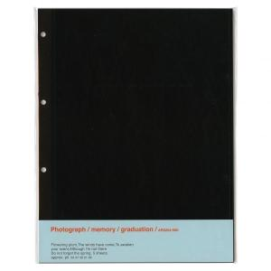 アルバムリフィル(A4)黒台紙5枚入 AR0204|kdmbz