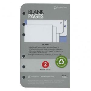 【フランクリン・プランナー】ポケットサイズ ブランクページ  200枚 システム手帳リフィル 27204 kdmbz