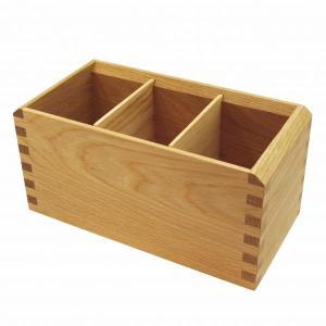 【オークヴィレッジ】木製 多用途ペン立て【ナチュラル】 01060-10|kdmbz