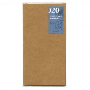 トラベラーズノート レギュラーサイズリフィル クラフトファイル 14332-006