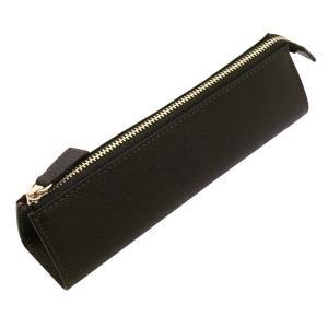 ベスティート 本革製 ペンケース ブラック  8614-011|kdmbz