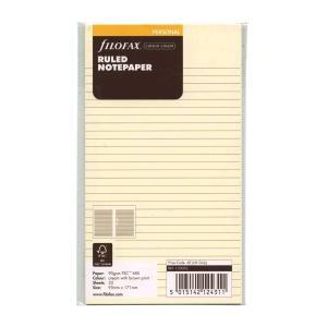 バイブルサイズ 横罫メモ コットンクリーム システム手帳リフィル F133053|kdmbz