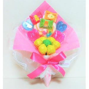 キャンディブーケ キャンディーブーケ 手持ちSサイズ お菓子ブーケ ピアノ バレエ 発表会 花束
