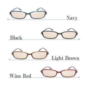 ブルーライトカットメガネ PCメガネ ハイカットタイプ パソコン 眼鏡 軽量 紫外線カット 送料無料|ke-shop|02