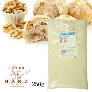 スーパーファイン ハード 全粒粉 250g / 製パン 小麦粉 パン用 1キロ 全粒粉 強力粉 ハードパン 製パン材料 日清製粉|ke-thi-fuudo-rabo