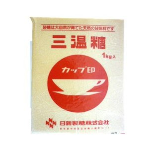 カップ印 三温糖 1kg 日新製糖 / 砂糖 料理 佃煮 製菓|ke-thi-fuudo-rabo