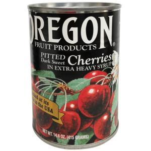 訳あり オレゴン ダークスィートチェリー #300 ダークチェリー 4号缶 / 415g アメリカ産...