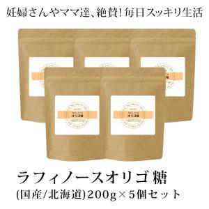 ラフィノースオリゴ糖 詰め替え用 5個セットアルミパック20...