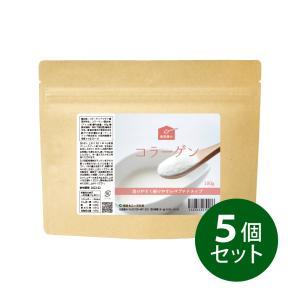 コラーゲン粉末 5個セット 100g×5 約100日分/健康食品の原料屋...