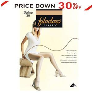 30%OFF セール メール便 送料無料 イタリア製高級ストッキング ダフネ 光沢あり フィロドーロ パンティストッキング|kea-kobo