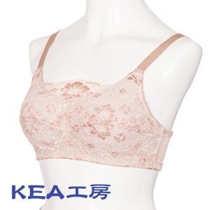 乳がん下着 ロザルノ・タスカデュエ  乳がん術後用 術跡が落ち着いてきたら ノンワイヤー ポケット ブラジャー 人工乳房挿入可 レース KEA工房|kea-kobo