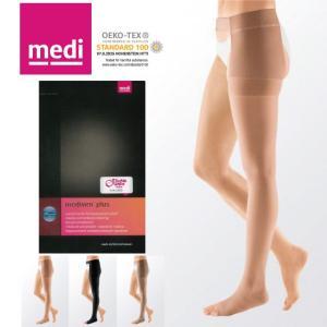 弾性ストッキング メディプラス 片脚ストッキング(左用) つま先無し medi スタンダード 圧1 クラス1(ライト圧) リンパ浮腫の方用医療用ストッキング|kea-kobo